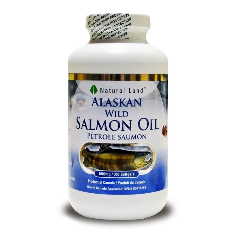 Alaskan Wild Salmon Oil (300 Softgels)