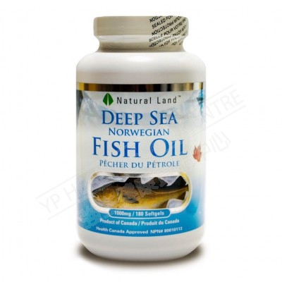 Deep Sea Fish Oil (180 Softgels)