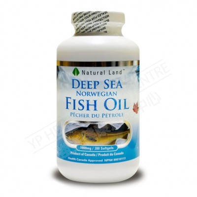 Deep Sea Fish Oil (300 Softgels)