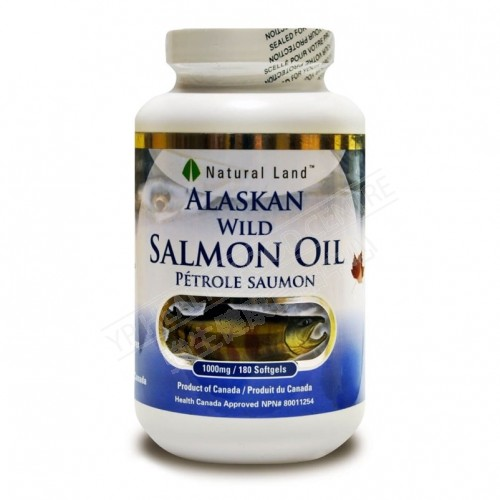 Alaskan Wild Salmon Oil (180 Softgels)
