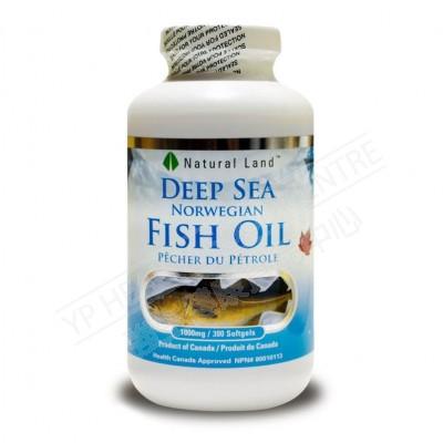 挪威深海魚油 (300粒)