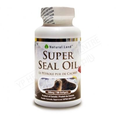 超級海豹油 (180粒)