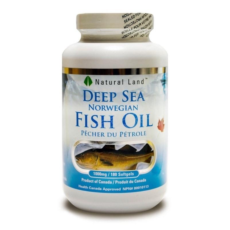 挪威深海魚油 (180粒)