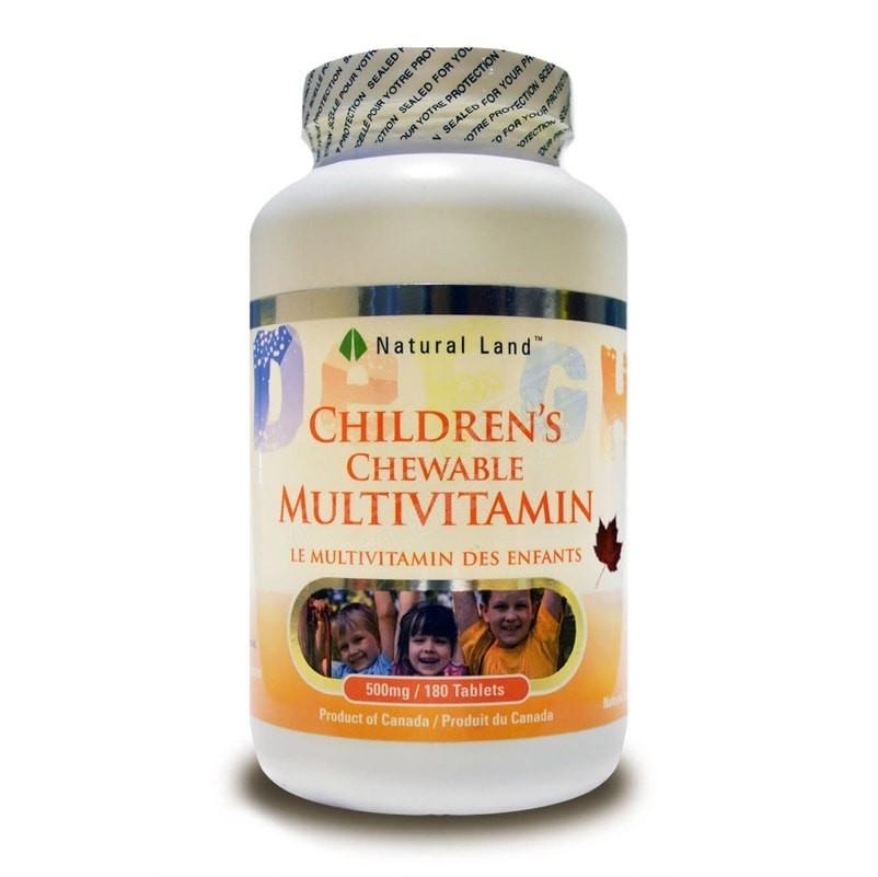 儿童综合维他命 Children's Chewable Multivitamin
