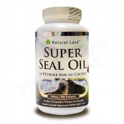 超级海豹油 (300粒)Super Seal Oil