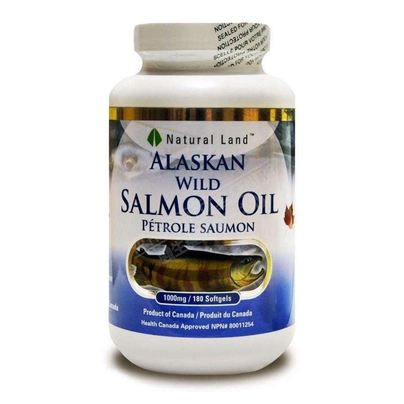 阿拉斯加野生三文魚油 Alaska Wild Salmon Oil (180粒)