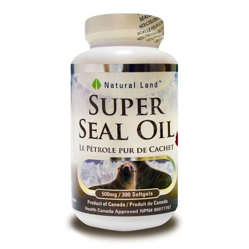 超级海豹油 (300粒)Super Seal Oil